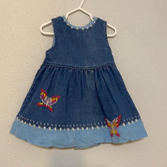 Vintage Baby Gap Denim Dress